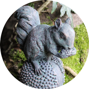 resin-squirrel-bronze-finish
